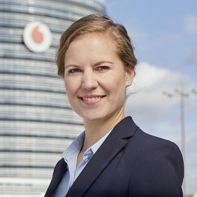 Caren Altpeter © Vodafone