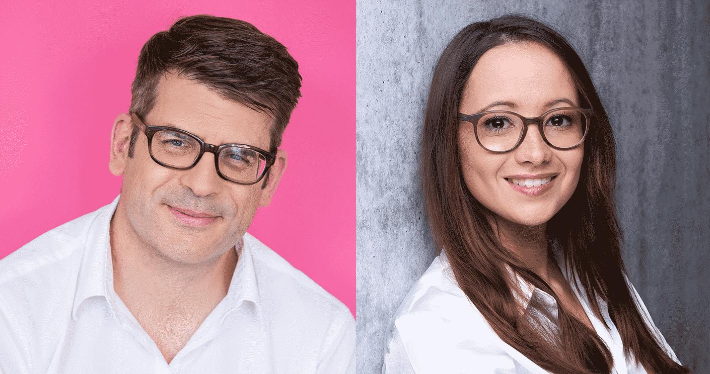 Adriana Cerami und Philipp Schindera © Mareen Fischinger, PepsiCo Deutschland