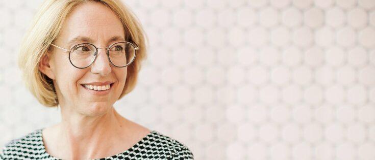 VW-Kommunikationschefin Nicole Mommsen empfing uns in der Autostadt in Wolfsburg. (c) Jana Legler