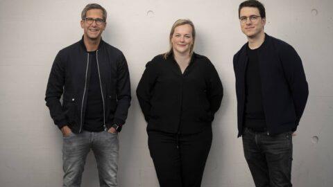 Alexander Wilke, Caroline Thiedig und Jakob Barzel (v.l.) © Goodthoughts