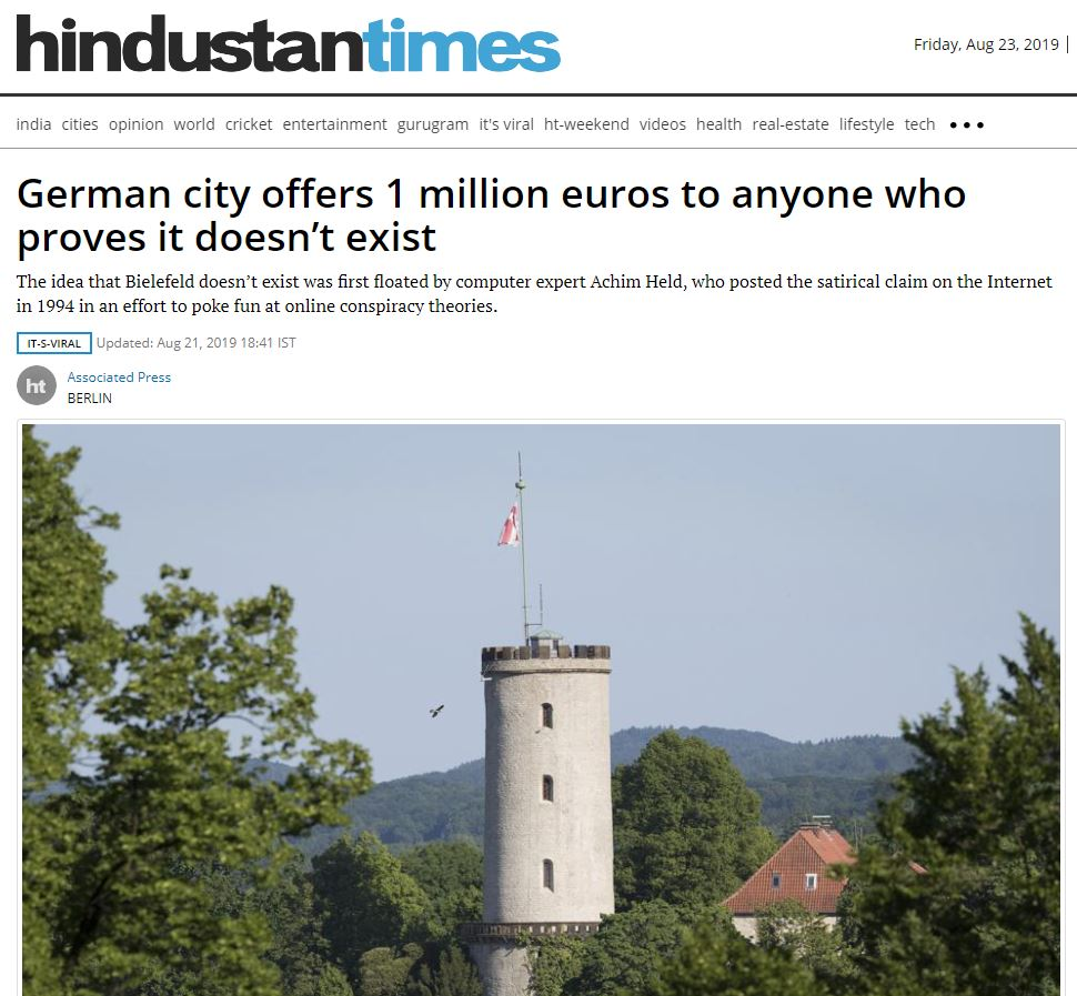 Hindustan Times Bielefeld