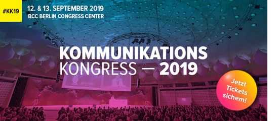 Kommunikationskongress 2019 Berlin