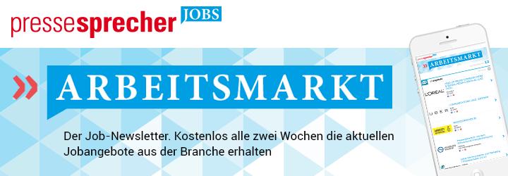 Arbeitsmarkt Newsletter - Kostenlos alle zwei Wochen die aktuellen Jobangebote aus der Branche erhalten