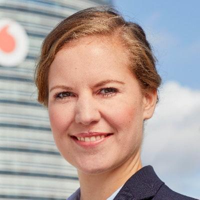 Caren Altpeter (c) Vodafone