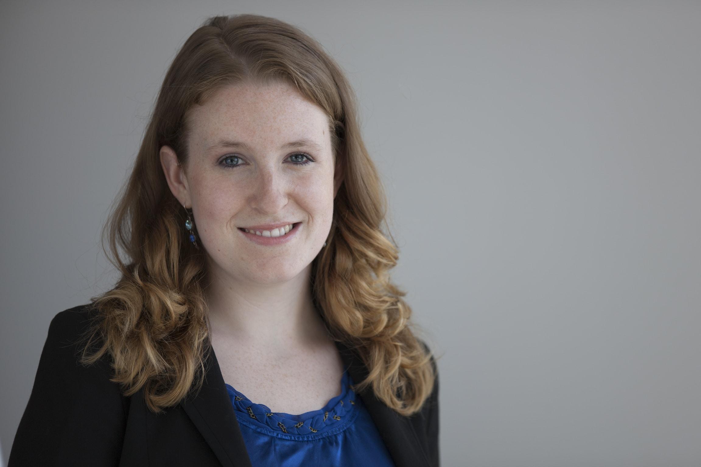Annabelle Atchison spricht sich gegen die Trennung von privaten und beruflichen Online-Profilen aus (c) AlexSchelbert.de