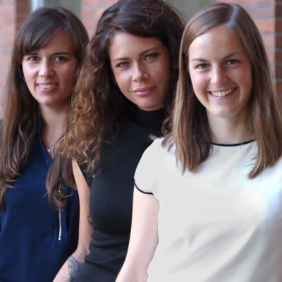Jasmin Schlegel, Miriam Rath & Frauke Meier (c) Cohn & Wolfe