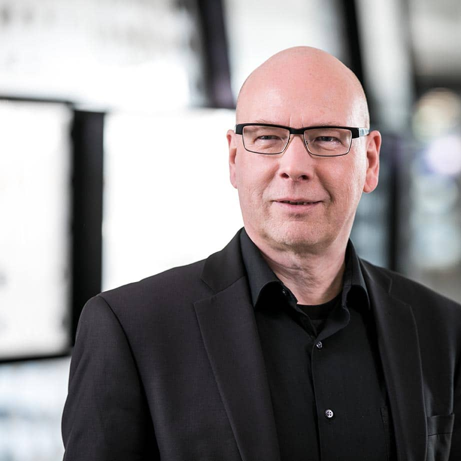 Thomas Mickeleit erklärt, Microsoft habe die Interne Kommunikation massiv aufgerüstet./ Thomas Mickeleit: (c) Microsoft Deutschland GmbH