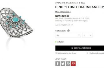 Ring, Traumfänger (c) Privat:screenshots/Thomas Sabo