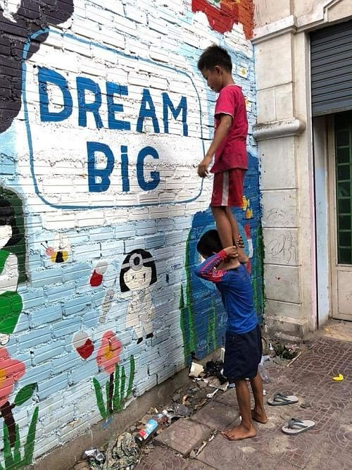 """Dream Big"" (c) Mini Molars Cambodia e.V. / D Foto: Anton Bass"