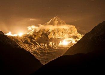 13 Sterne am Gipfel - Bietschhorn, Lightsandsummits; Fotograf: Marcel Grichting