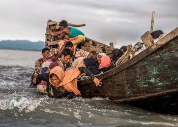"""""""Ankunft Geflüchteter aus Myanmar"""" / CARE Deutschland-Luxemburg e.V. Anja Engelke (c) Kathleen Prior"""