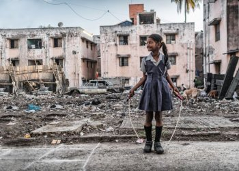 """""""Das Leben in der Stadt ist kein Kinderspiel"""" / Kindernothilfe Charlotte Kossler (c) Jakob Studnar"""