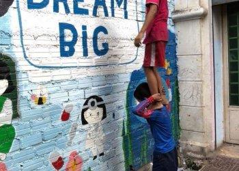 """Dream big"" / Mini Molars Cambodia e.V. Ulf Zuschlag (c) Anton Bass"