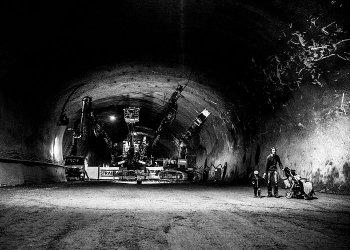 """Transformers im Brenner Basistunnel"" / Brenner Basistunnel SE - Galleria di base del Brennero, Andreas Ambrosi (c) Jan Hetfleisch"
