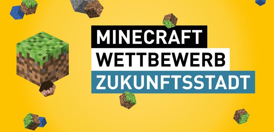 Der Minecraft-Wettbewerb Zukunftsstadt (c) Wissenschaftsjahr