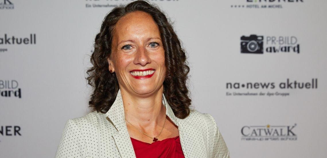 Ab 1. Oktober 2020 neue Kommunikationschefin des Deutschen Fußball-Bunds (DFB): Mirjam Berle. (c) picture alliance/P0009