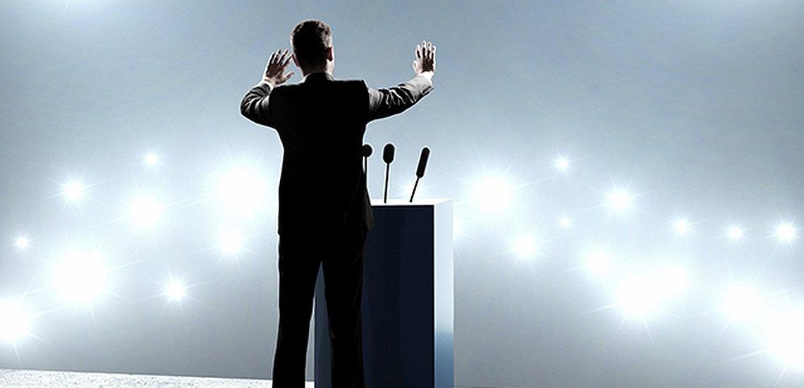 Redenschreiberverband hat die Wahlkampfauftritte zur Europawahl ausgewertet