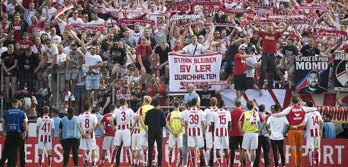 Abstieg 2018: Nicht nur für die Mannschaft, sondern auch für das Social-Media-Team eine Herausforderung (c) 1. FC Köln