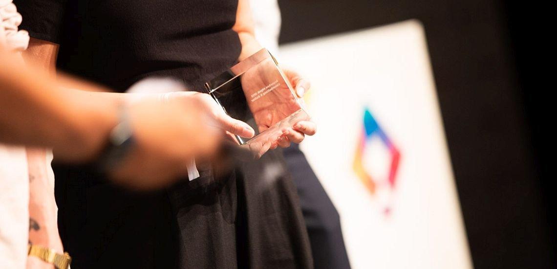 Am Donnerstagabend wurde in Berlin der Deutsche Preis für Onlinekommunikation vergeben. (c) Jana Legler / Quadriga Media Berlin
