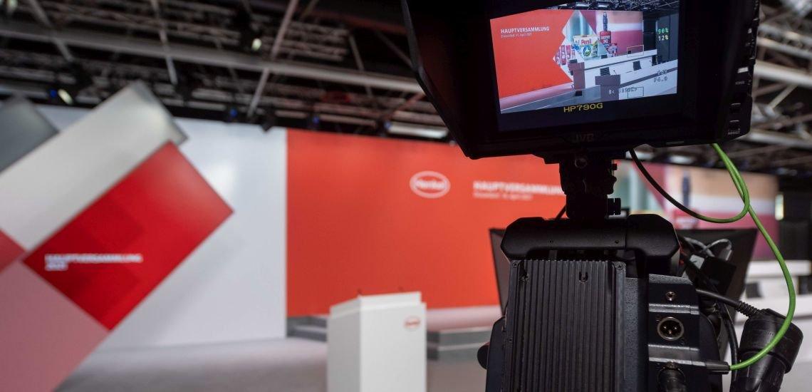 Sind 2021 kein Novum mehr: virtuelle Hauptversammlungen. (c) Henkel