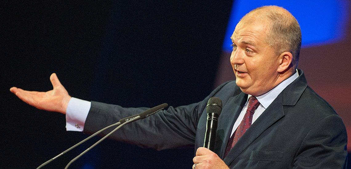 Jörg Thadeusz während der Speakersnight (c) Laurin Schmid