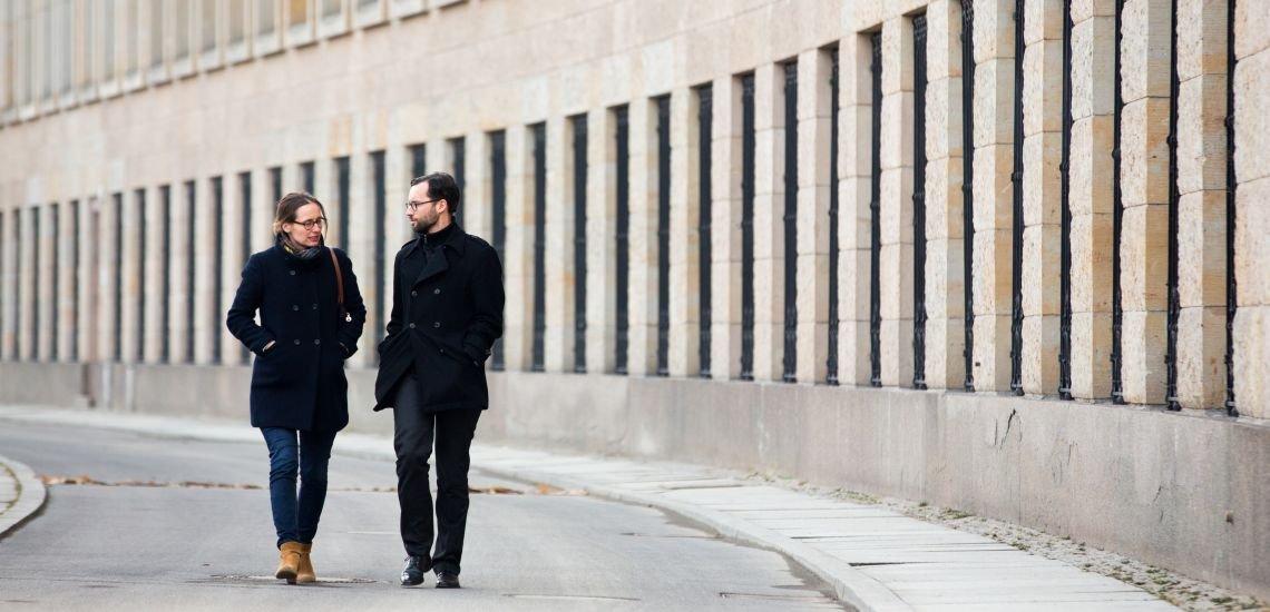 Christiane Maack und Christian Hanne (c) Laurin Schmid, Helios Media