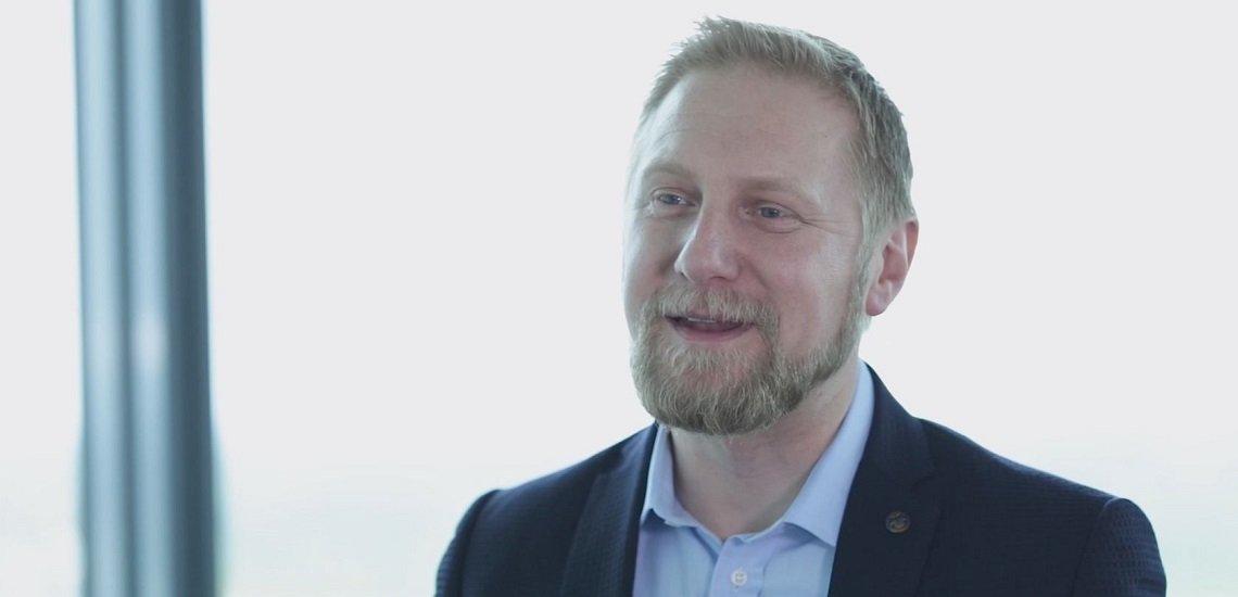 Martin Bachler von Osram sprach über Herausforderungen und Trends in der Kommunikation. (c) Quadriga Media Berlin