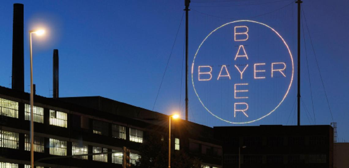 Bayers große PR-Initiative trifft auf noch größere Skepsis./ Bayer-Logo: (c) Bayer