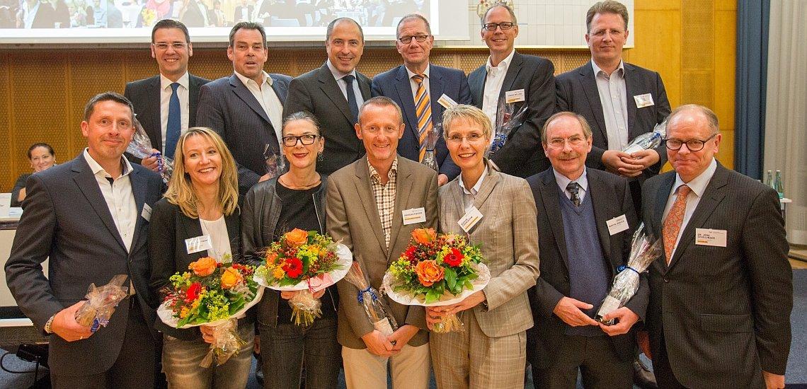 Die frisch bestätigten oder neu gewählten Landesgruppensprecher (c) Laurin Schmid