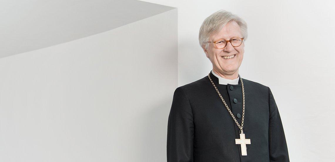 Kommunikation ist für die Kirche ein absolut zentrales Thema, sagt Heinrich Bedford-Strohm, Ratsvorsitzender der EKD. (c) Kolja Warnecke