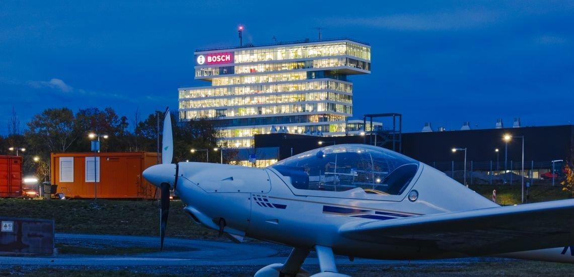 Bosch setzt auch in seiner Unternehmenskommunikation auf ein klares Klima-Ziel. (c) Getty Images / Daniel Kloe