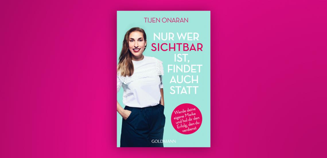 Onarans neues Buch erklärt, wie man sich positioniert und ein authentisches Thema findet. (c) Goldmann Verlag