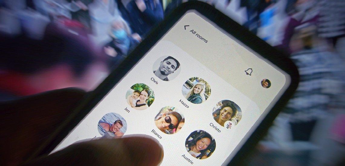 Clubhouse ist bisher nur über das Apple-Betriebssystem nutzbar. (c) picture alliance/SvenSimon/Frank Hoermann