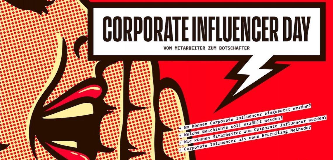 Die Sichtbarkeit von Mitarbeitern in Social Media ist in den vergangenen Jahren immer wichtiger geworden./ Corporate Influencer Day: (c) Quadriga Media Berlin