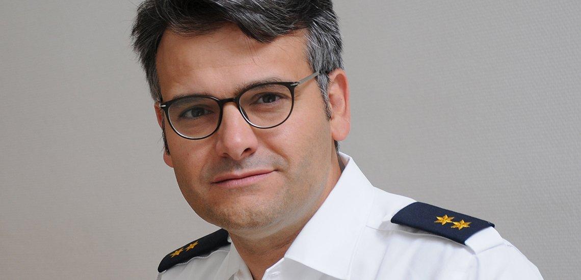 Die Polizei als Marke polarisiert, meint der Münchner Polizeisprecher Marcus da Gloria Martins. (c) Polizei München