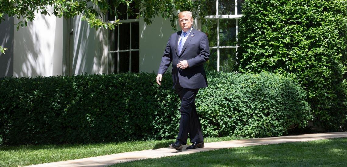"""Donald Trump zieht in den Kampf gegen angebliche """"Social-Media.Zensur"""". (c) White House"""