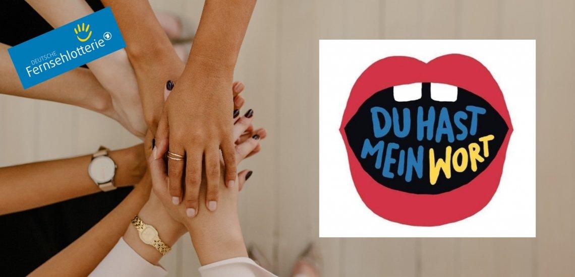 Unter dem Hashtag #DuHastMeinWort sollen sich Influencer für mehr solidarisches Miteinander einsetzen. (c) Getty Images/jacoblund, Deutsche Fernsehlotterie