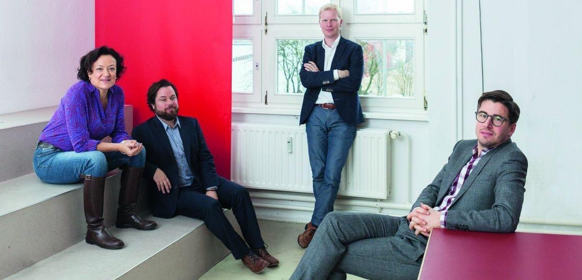 Ulrike Pott, Sascha Tegtmeier, Dennis Schmidt-Bordemann und Alexander Lang (c) Johannes Windolph