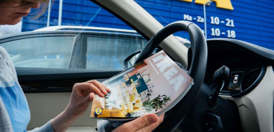 Der Möbelkonzern Ikea stellt seinen gedruckten Katalog nach 70 Jahren ein. (c) Getty Images/ AdrianHancu