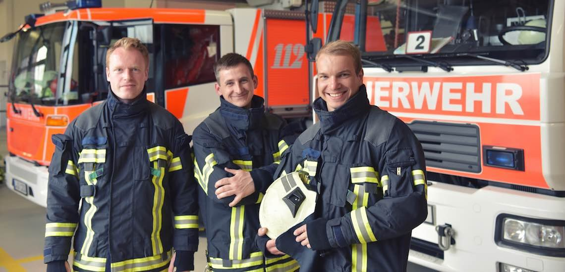 Bundesweit informieren Feuerwehren unter #112live heute über ihre Arbeit. / Symbolbild Feuerwehr: (c) Getty Images/industryview