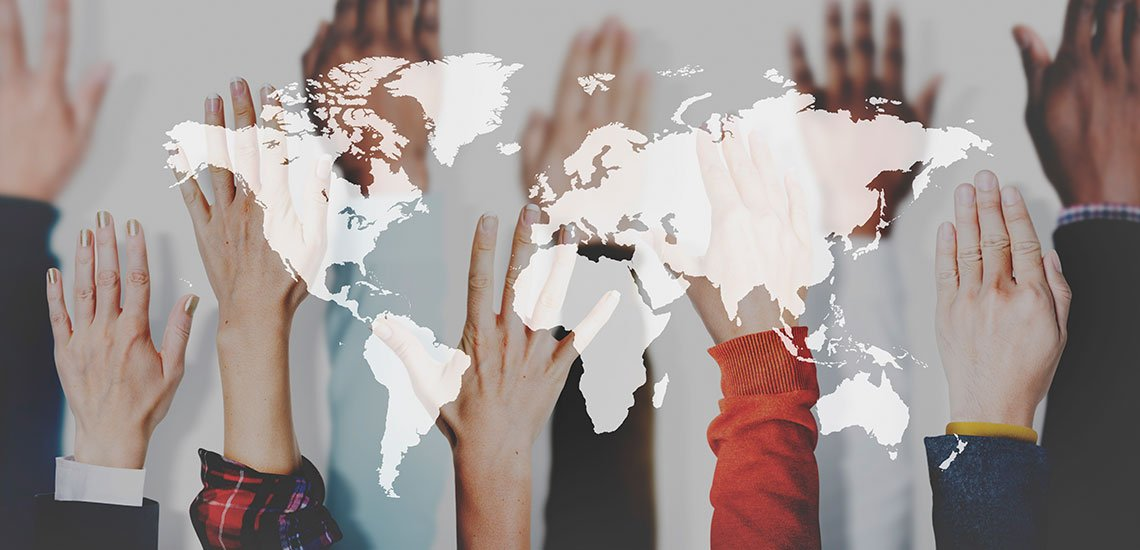 Die internationale Kommunikation muss ihre Rolle verändern, so Nike Möhle. / Internationale Kommunikation: (c) Getty Images/Rawpixel