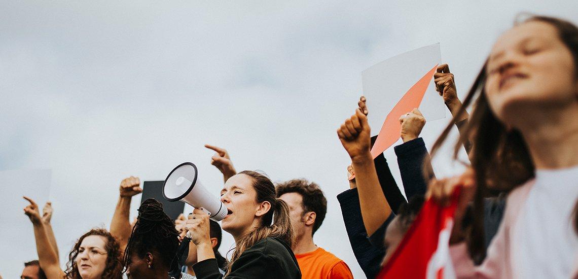 Aktivisten als Vorbilder für Kommunikatoren? (c) Getty Images / Rawpixel