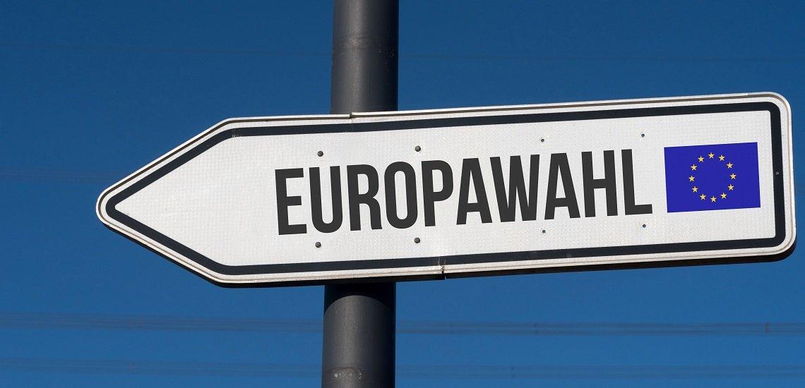 Das EU-Parlament sowie weitere Unternehmen rufen zur Teilnahme an der Europawahl am 26. Mai auf. (c) Getty Images/Stadtratte