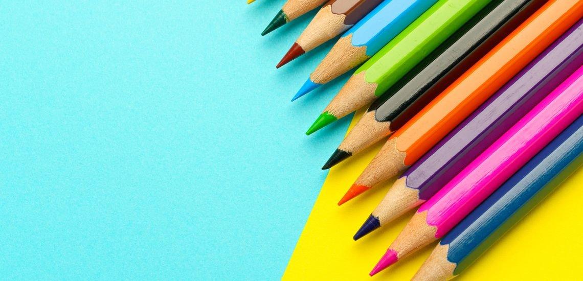 Buntstifte machen ein Bild lebendiger, Tools eine Rede brillant. (c) Getty Images/Wako Megumi