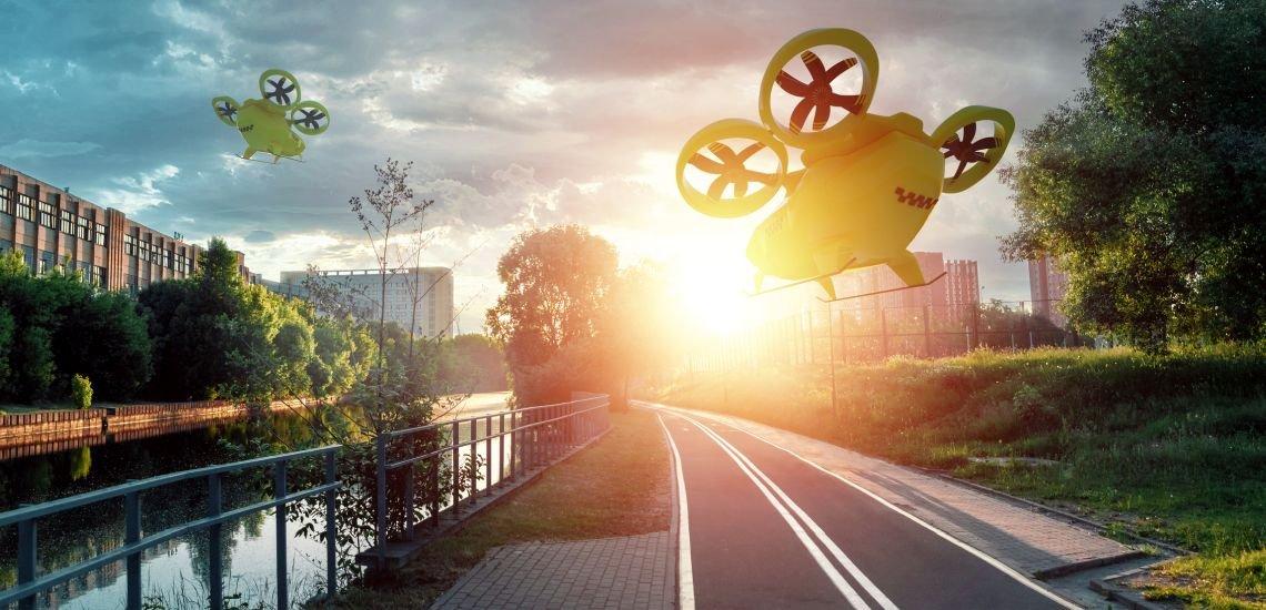 Ob Flugauto oder Künstliche Intelligenz: Bevor neue Technologien überhaupt existieren, ist die Angst vor ihnen oft schon da. (c) Getty Images/Marharyta Marko