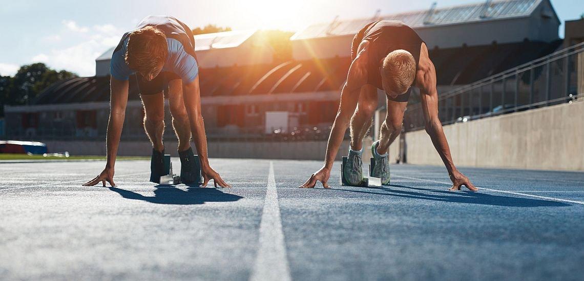 Konkurrenz kann uns anspornen – oder lähmen. Mehr Gelassenheit schadet manchmal nicht. (c) Getty Images/jacoblund