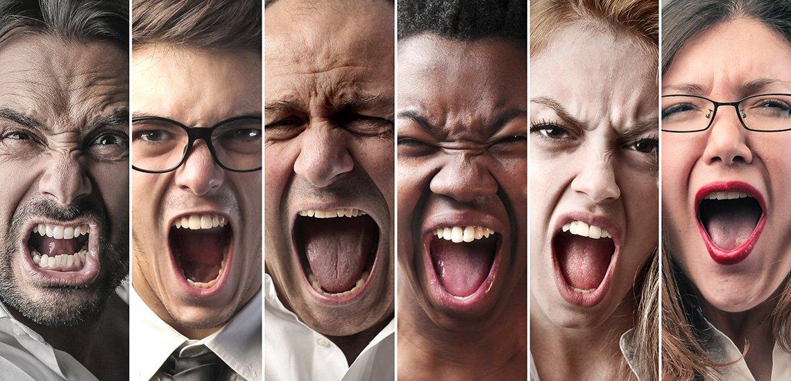 Fast die Hälfte der Kommunikator:innen fürchtet sich vor negativen Kommentaren in Social Media. / Hassrede: (c) Getty Images/bowie15