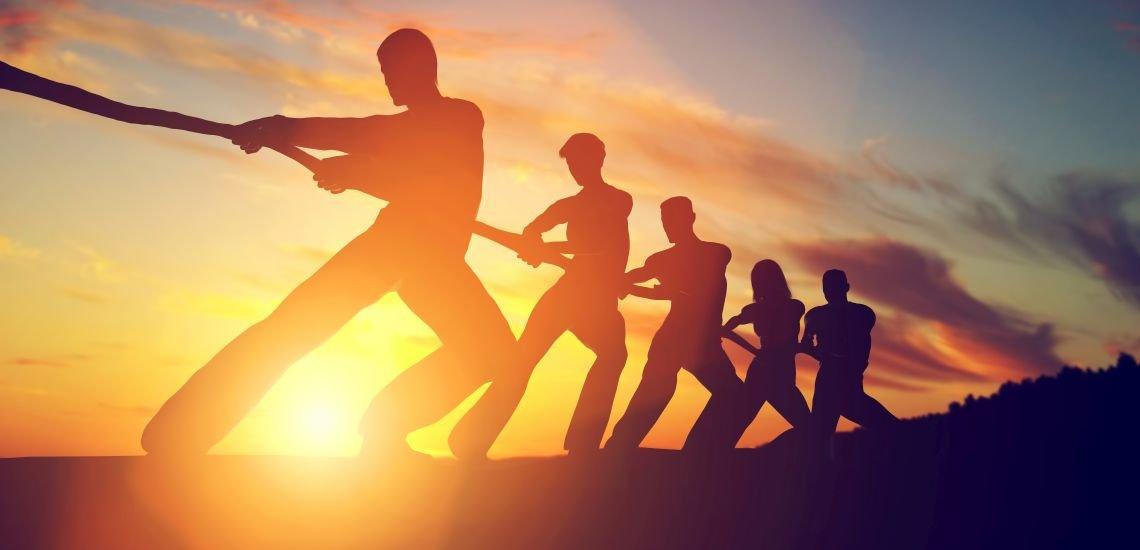 Corporate Behaviour bezeichnet die Verhaltensweisen eines Unternehmens und das all seiner Mitarbeiter. (c) gettyimages/NiseriN
