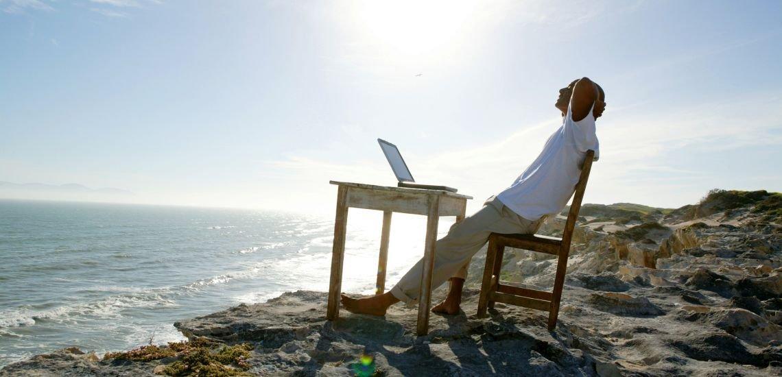 Neue Normalität: Noch nie waren wir so flexibel darin, wo und wann wir arbeiten. (c) Getty Images/Goodshoot