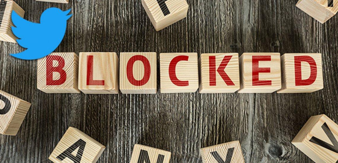 Politiker blockieren kritische User gern auf Twitter./ Blocked: (c) Getty Images/ gustavofrazao / Twitter